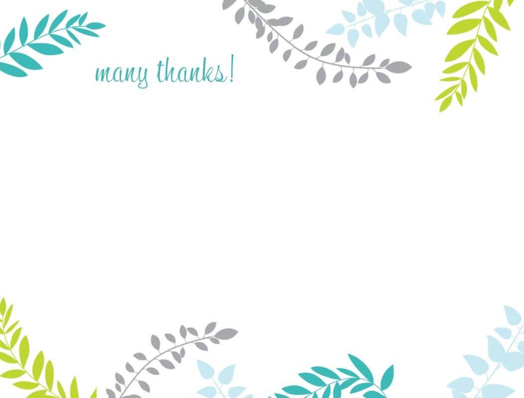 Printable Thank You Card Template   Harmonia Gift intended for Soccer Thank You Card Template