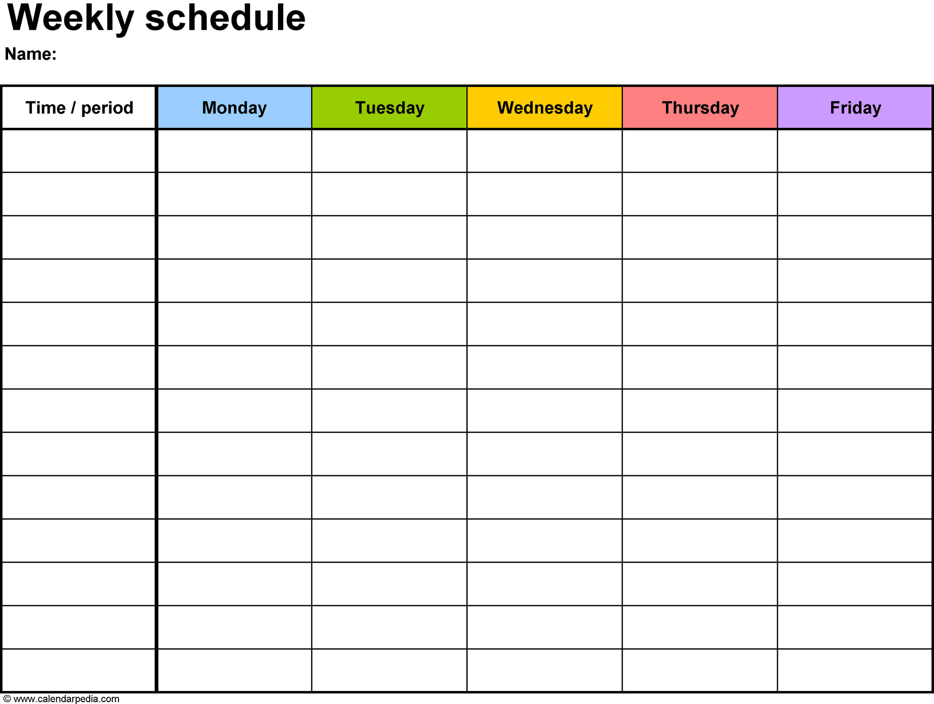 Printable Workout Calendar | Daily Calendar Template intended for Blank Workout Schedule Template