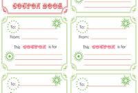Printable+Christmas+Coupon+Book+Template | Christmas Card within Homemade Christmas Gift Certificates Templates
