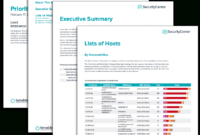 Prioritize Hosts Report – Sc Report Template | Tenable® throughout Nessus Report Templates