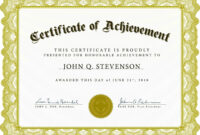 Professional Award Certificate Template – Atlantaauctionco intended for Sports Award Certificate Template Word