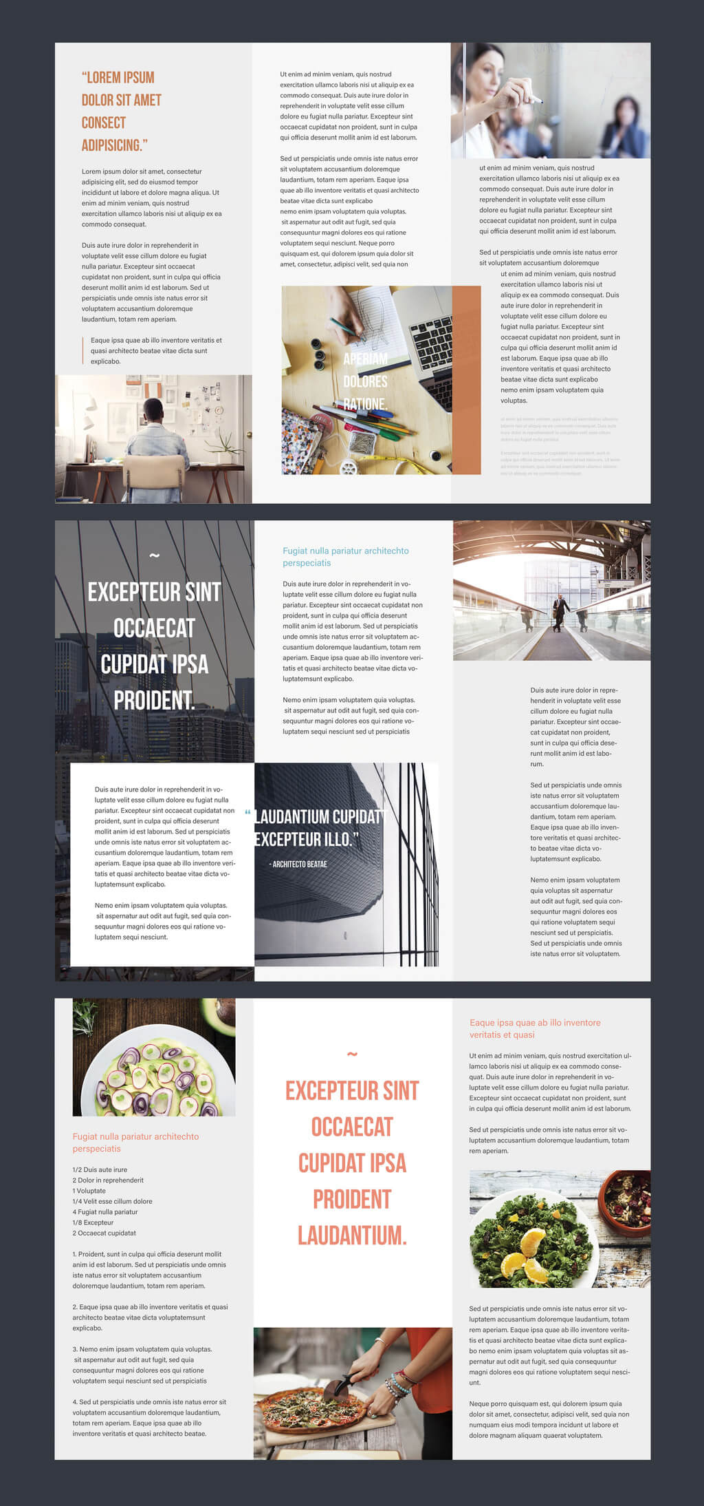 Professional Brochure Templates | Adobe Blog for Brochure Template Illustrator Free Download