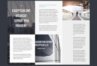 Professional Brochure Templates | Adobe Blog regarding Adobe Illustrator Tri Fold Brochure Template