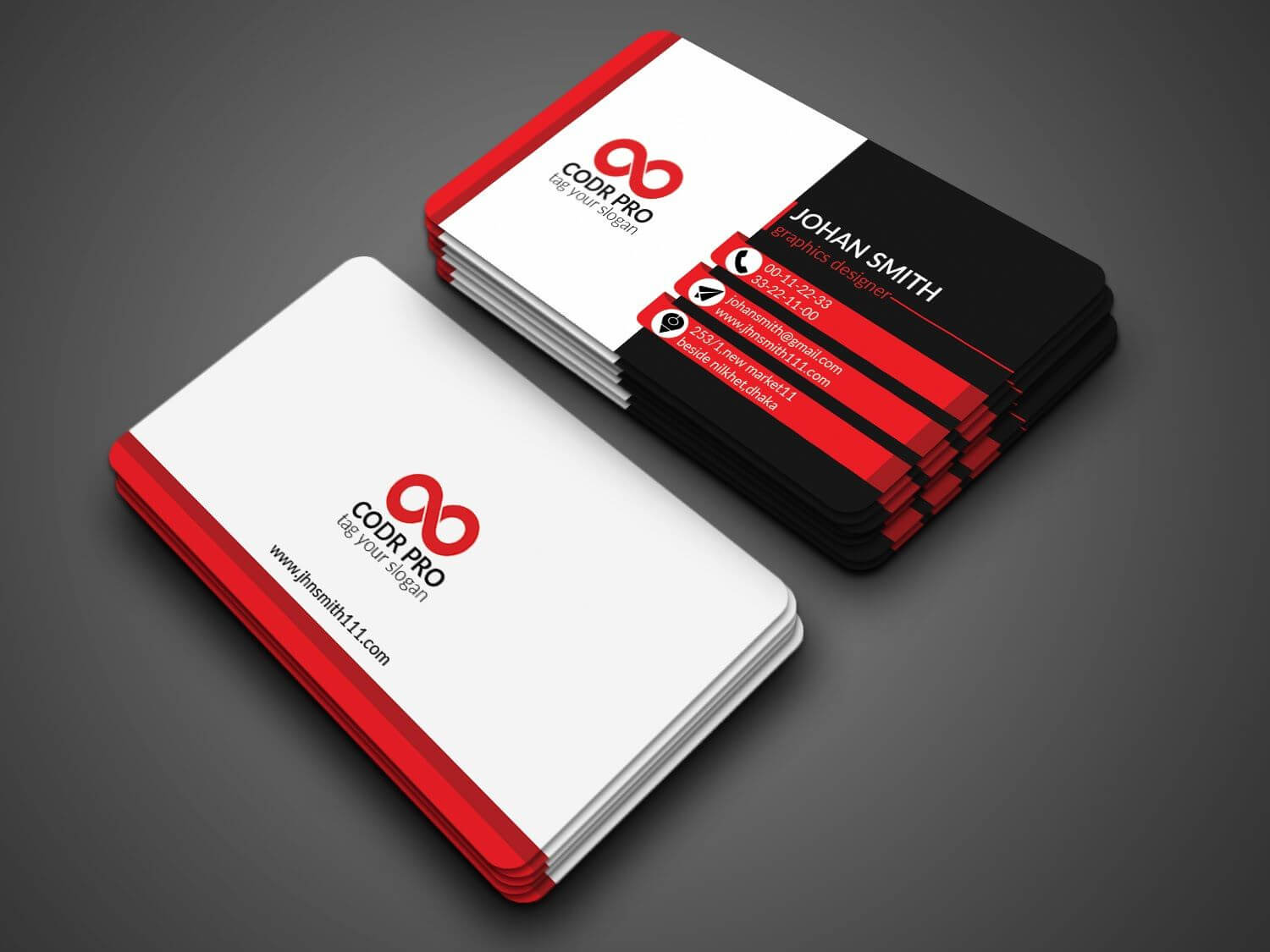 Professional Business Card Design In Photoshop Cs6 Tutorial With Business Card Template Photoshop Cs6