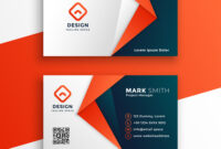 Professional Business Card Template Design within Adobe Illustrator Business Card Template