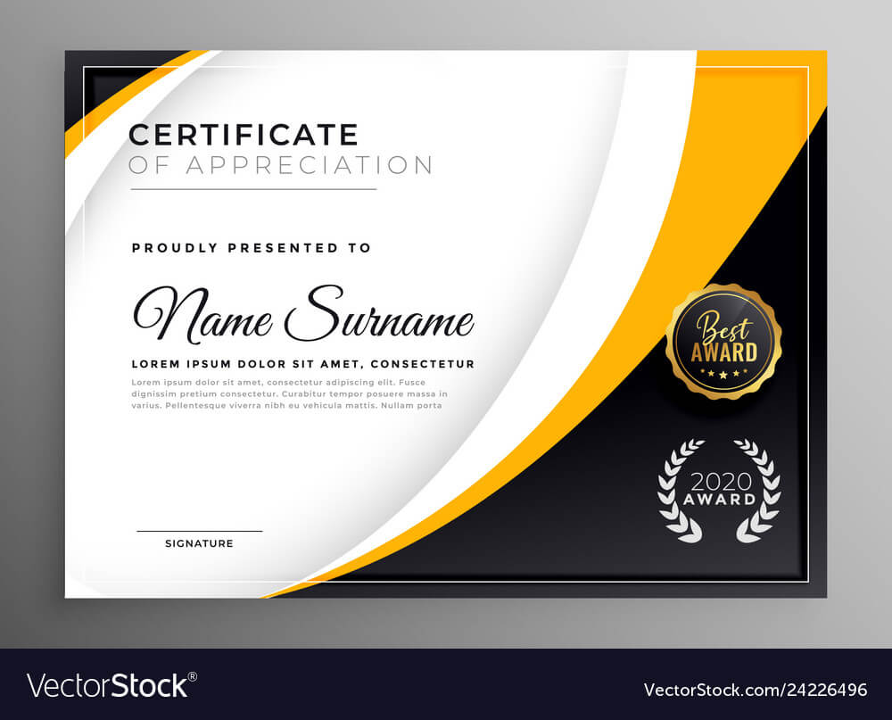 Professional Certificate Template Diploma Award pertaining to Professional Award Certificate Template