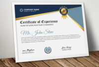 Professional Certificatetemplate Word – Vsual throughout High Resolution Certificate Template