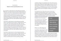Professional-Looking Book Template For Word, Free – Used To Tech intended for How To Create A Book Template In Word