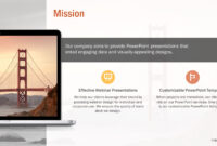 Professional Our Mission Slide Bundle For Powerpoint in Webinar Powerpoint Templates