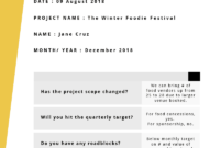 Progress Report: How To Write, Structure And Make It regarding Research Project Progress Report Template