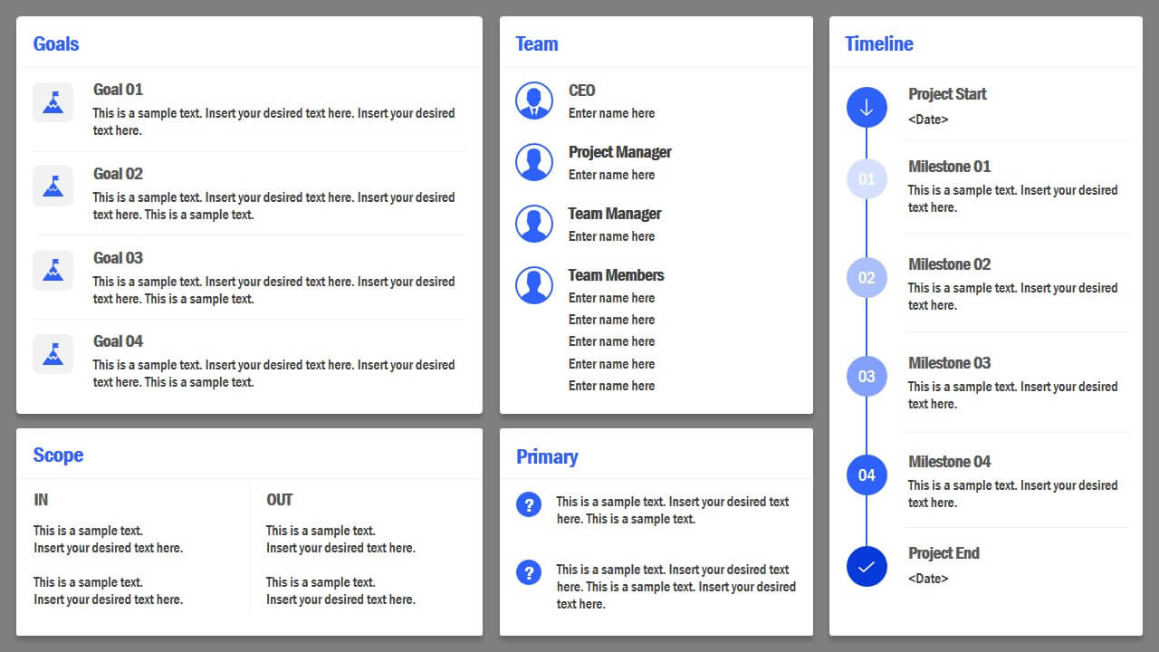 Project Charter Powerpoint Template Pertaining To Team Charter Template Powerpoint