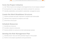 Project Planning Checklist: 5 Steps Every Pm Should Take regarding Test Closure Report Template