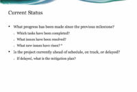 Project Status Report Presentation Template For Powerpoint with regard to Project Status Report Template Word 2010