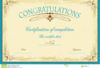 Promotion Certificate Template Word Within Promotion pertaining to Promotion Certificate Template