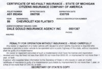 Proof Of Auto Insurance Template Free | Template Business with Free Fake Auto Insurance Card Template