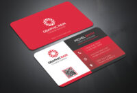 Psd Business Card Template On Behance with regard to Template Name Card Psd