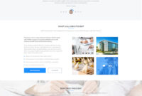 Psd Templates: 20 One Page Free Web Templates | Freebies with Single Page Brochure Templates Psd