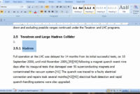 Pt 1 Of 3 Thesis Template From Word pertaining to Ms Word Thesis Template