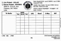 Qsl Cards Template. Qsl Cards Templates. Pdf Qsl Cards For inside Qsl Card Template