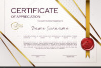 Qualification Certificate Appreciation Design Elegant Luxury for Qualification Certificate Template