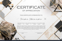 Qualification Certificate Of Appreciation Design. Elegant with regard to Qualification Certificate Template