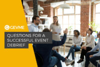 Questions For A Successful Event Debrief – Gevme Blog inside Event Debrief Report Template