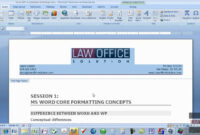 Quickpart Letterhead.mov for How To Create A Letterhead Template In Word