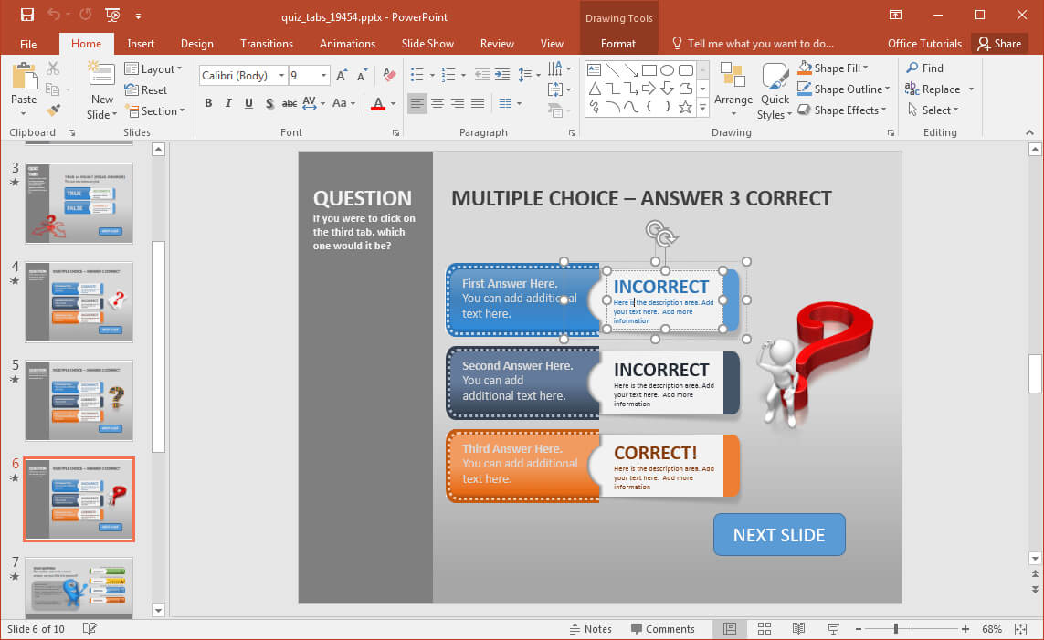 Quiz Show Powerpoint Templates   All Document Resume inside Quiz Show Template Powerpoint