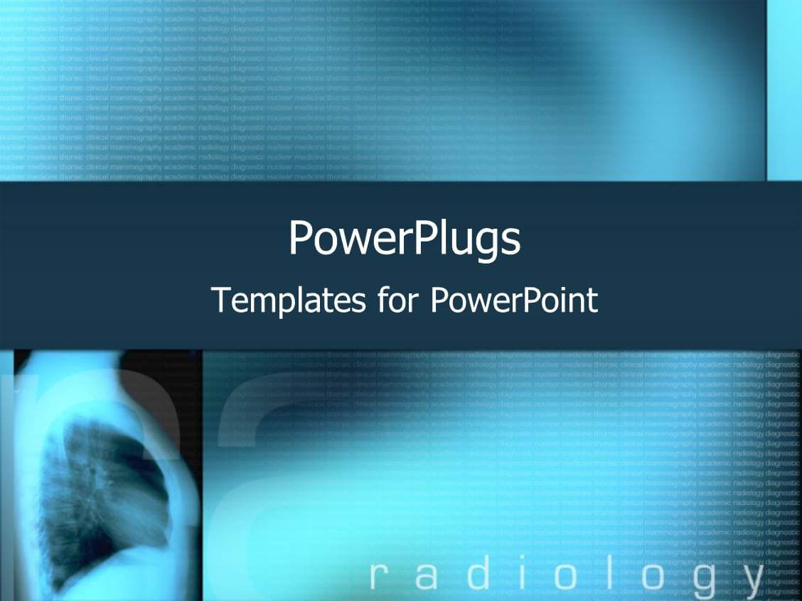 Radiology Powerpoint Templates W/ Radiology Themed Backgrounds For Radiology Powerpoint Template