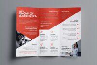 Rare Double Sided Brochure Template Ideas Two Templates Free throughout One Sided Brochure Template