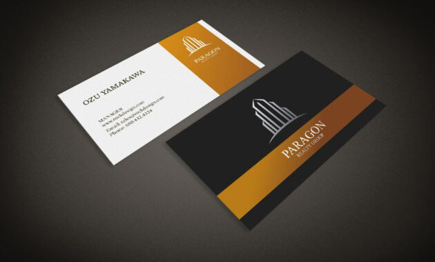 Real Estate Business Card Template | Download Free Design for Real Estate Business Cards Templates Free