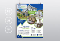 Real Estate – Psd Photoshop Flyer Template – Free Psd Flyer throughout Real Estate Brochure Templates Psd Free Download
