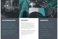 Real Estate Tri-Fold Brochure Design Template In Psd, Word regarding Tri Fold Brochure Publisher Template