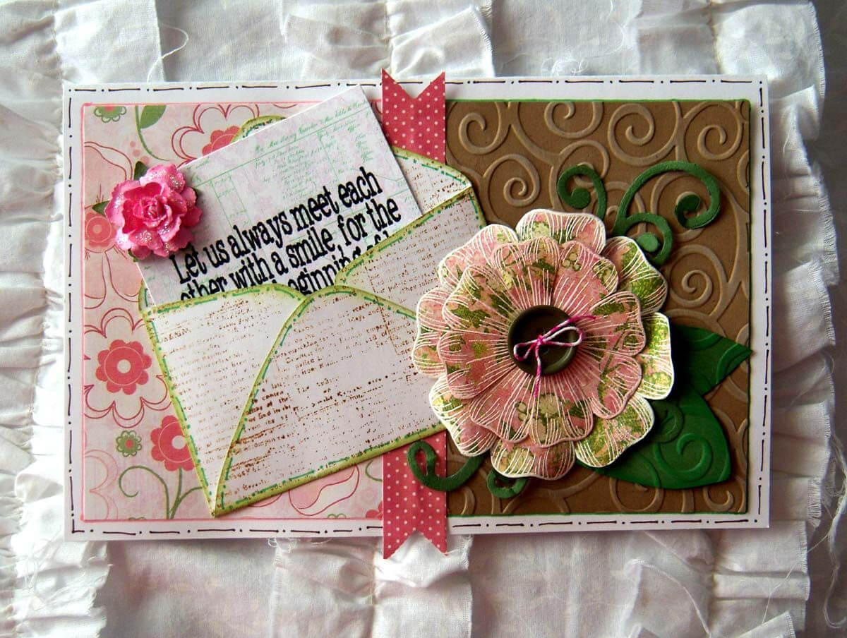 Recollections Cards And Envelopes Templates Free - Yahoo Within Recollections Card Template