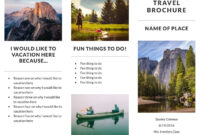 Recreation Travel Brochure Template | Lucidpress For Travel Brochure Template For Students