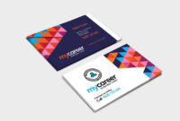 Recruitment Agency Business Card Template In Psd, Ai within Call Card Templates
