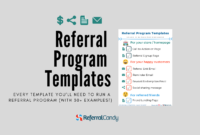 Referral Program Templates – Examples Of All You'll Need To within Referral Certificate Template