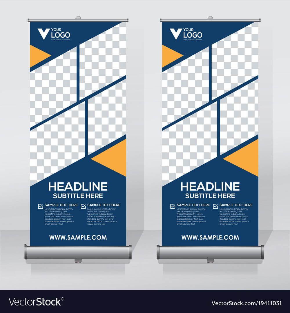Related Image | Pull Up Banner Design, Banner Design, Rollup Inside Retractable Banner Design Templates