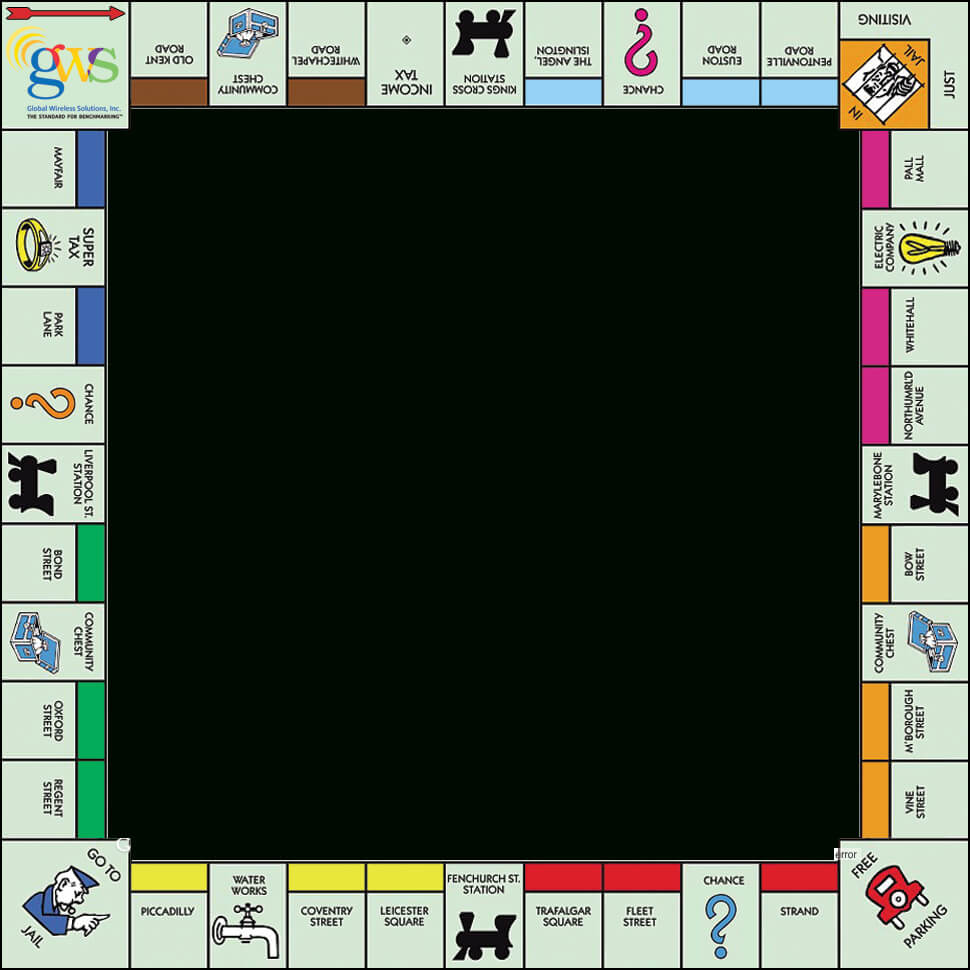 Relay Monopoly Game Board Template - Google Search with Chance Card Template