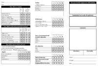 Report Card Template – 33+ Free Word, Excel, Documents with Homeschool Report Card Template