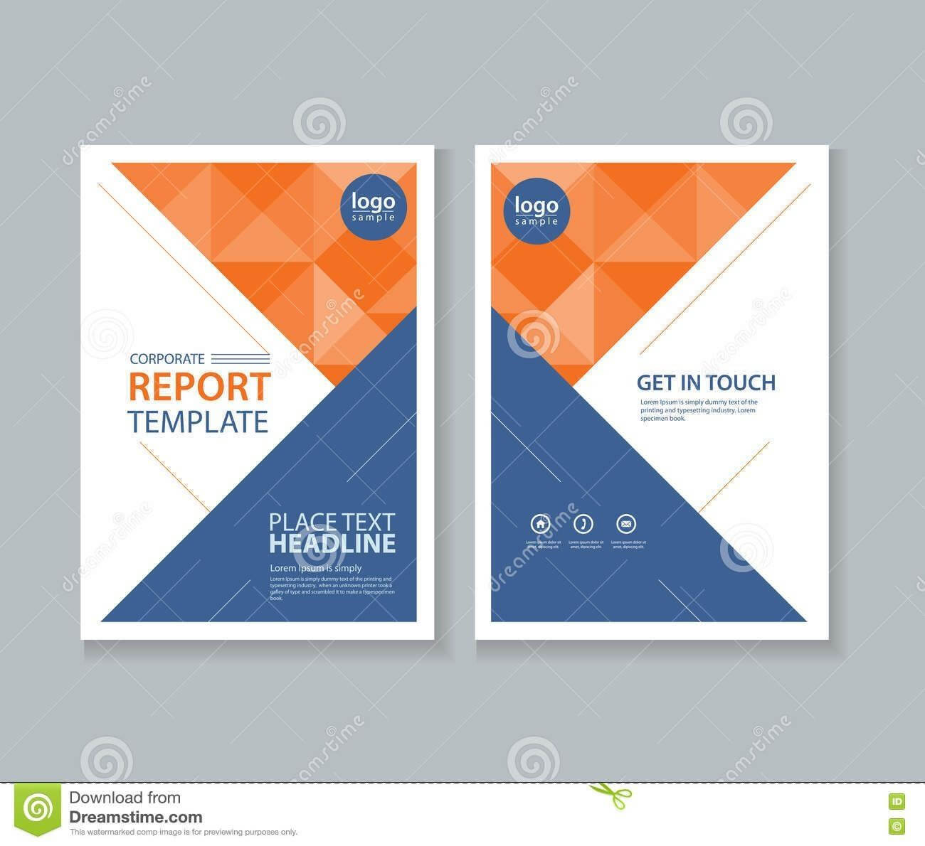 Report Cover Design Templates - Hatch.urbanskript.co For pertaining to Cover Pages For Word Templates