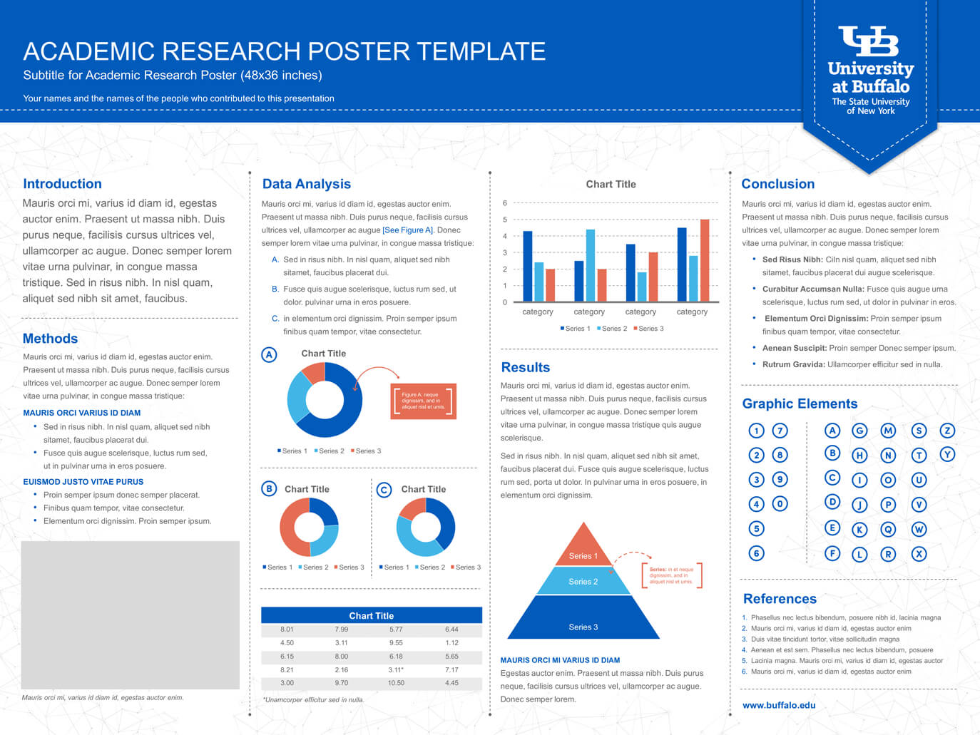 Research Poster Template Powerpoint Borders 24X36 Scientific pertaining to Powerpoint Academic Poster Template