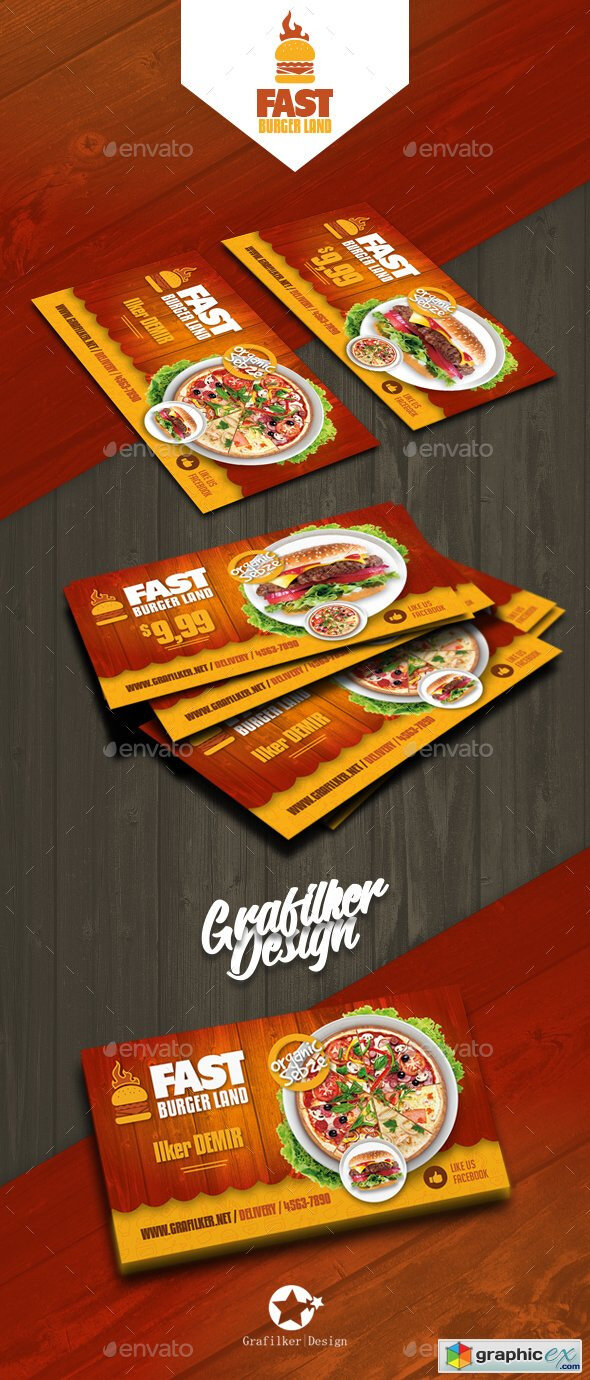 Restaurant Business Card Templates 20760814 » Free Download inside Restaurant Business Cards Templates Free