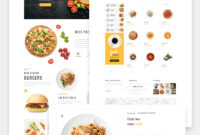 Restaurant Templates | Cafe Templates within Blank Food Web Template