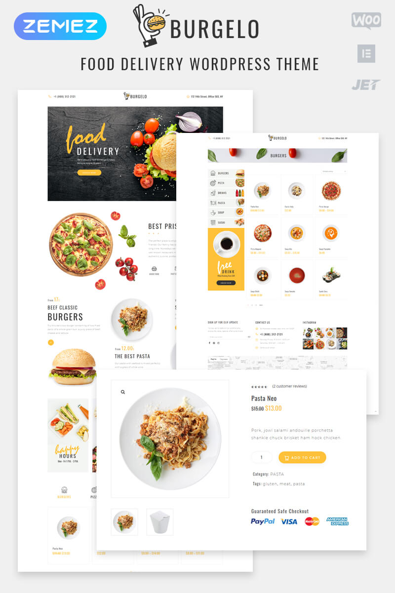 Restaurant Templates   Cafe Templates within Blank Food Web Template