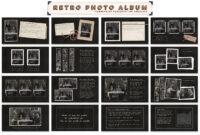 Retro Photo Album Ppt Templateblixa 6 Studios On with regard to Powerpoint Photo Album Template
