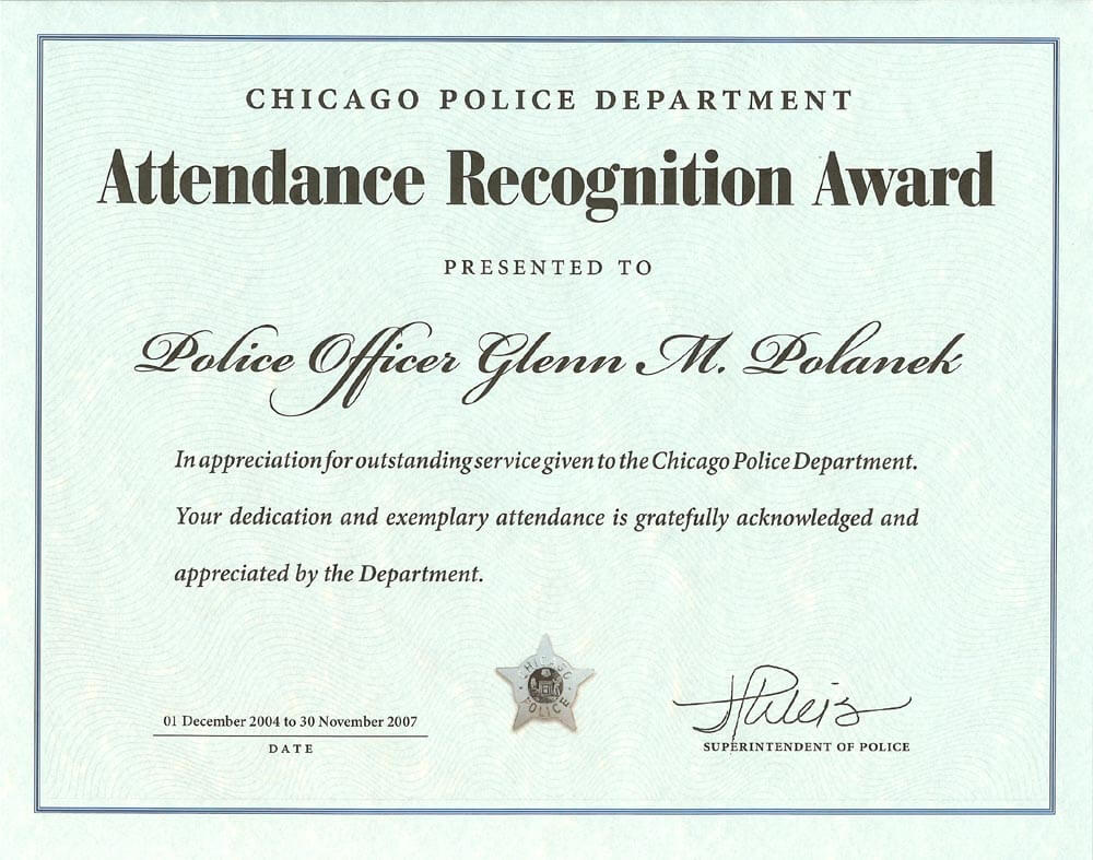 Ribbon Awards | Chicagocop intended for Life Saving Award Certificate Template