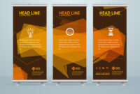Roll Up Banner Stand Design Template for Banner Stand Design Templates