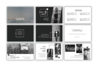 Sabee Powerpoint Template Free Download – Just Free Slides with Powerpoint Photo Slideshow Template