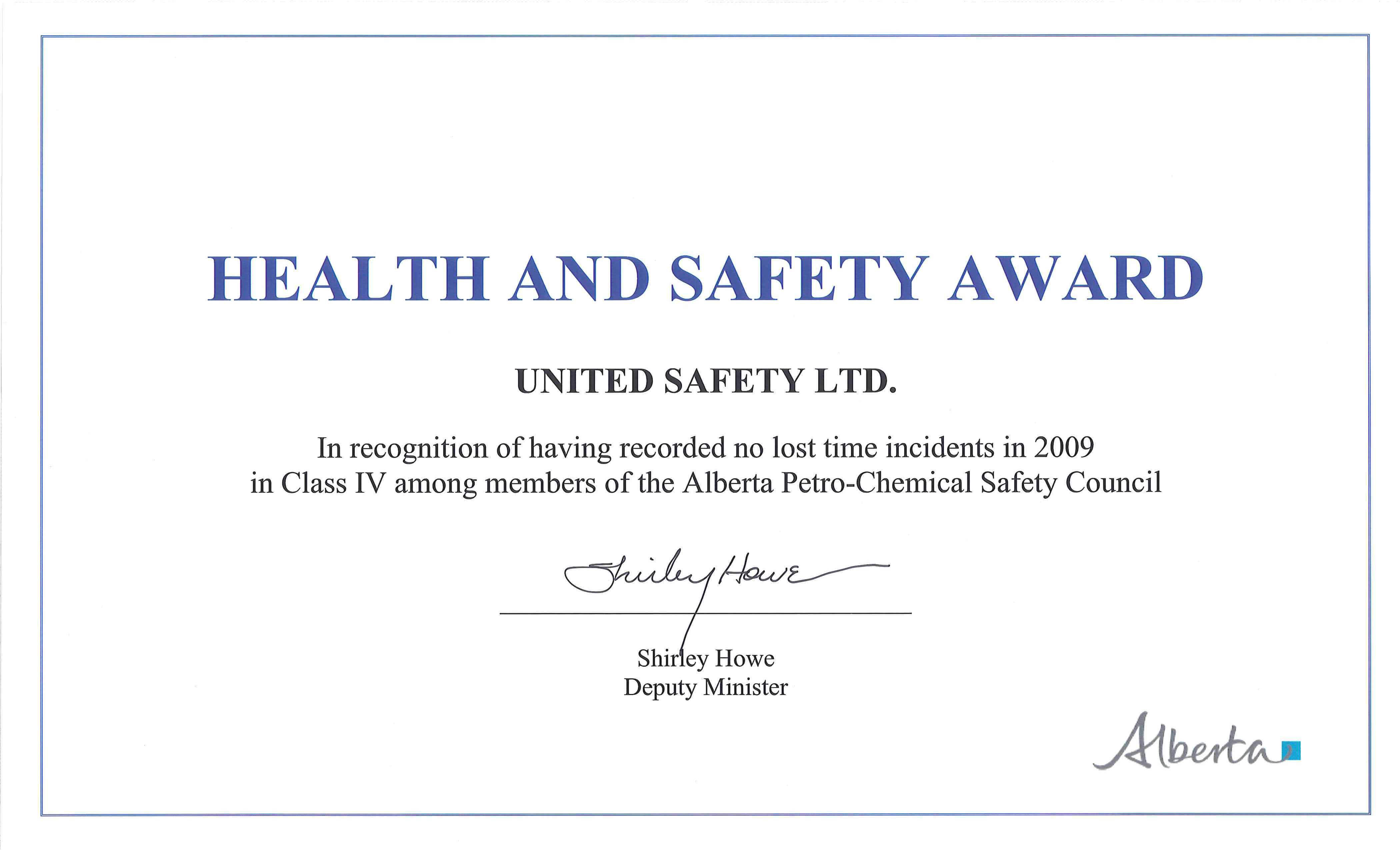 Safety Recognition Certificate Template - Atlantaauctionco For Safety Recognition Certificate Template